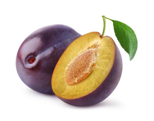 Plum - Ameixa em inglês