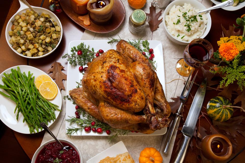 Comidas típicas Thanksgiving Estados Unidos