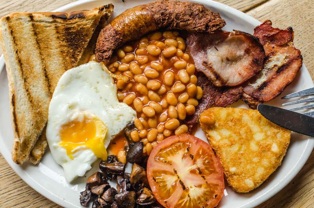 Inglaterra - Café da manhã