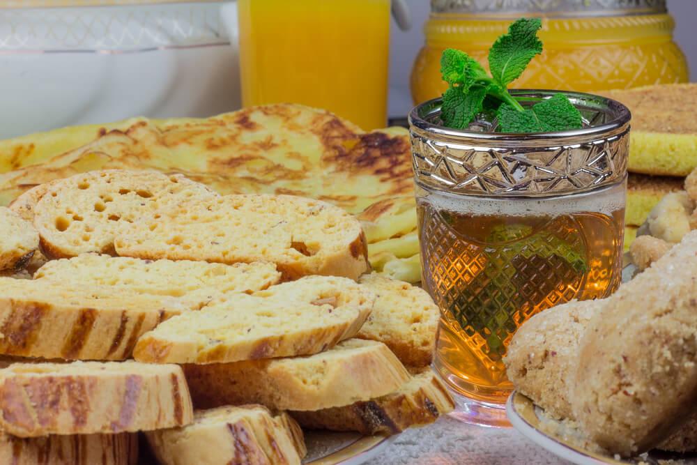 Marrocos - Café da manhã