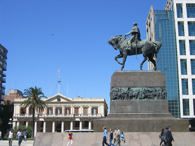 Plaza Independencia - Uruguai