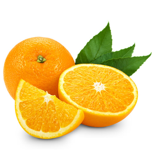 Larange em inglês - Orange