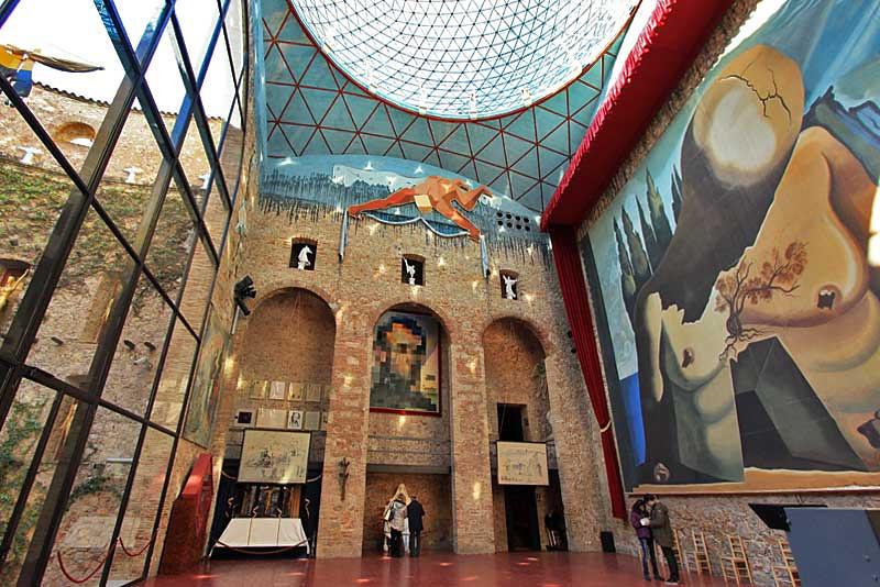 Teatro-Museu Dalí (Figueres – Catalunha)